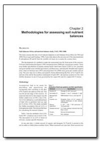 Methodologies for Assessing Soil Nutrien... by Food and Agriculture Organization of the United Na...
