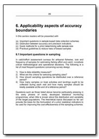 Applicability Aspects of Accuracy Bounda... by Food and Agriculture Organization of the United Na...