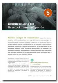 Design Criteria for Livestock Manured Po... by Food and Agriculture Organization of the United Na...