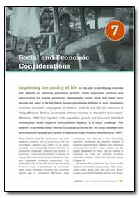 Social and Economic Considerations by Food and Agriculture Organization of the United Na...