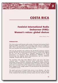 Feminist International Radio Endeavour (... by Toro, Maria Suarez