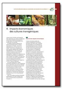 Impacts Economiques des Cultures Transge... by Food and Agriculture Organization of the United Na...