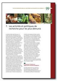 Les Activites et Politiques de Recherche... by Food and Agriculture Organization of the United Na...