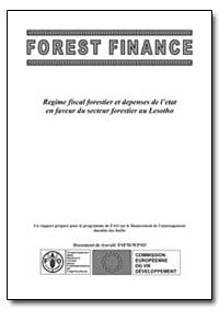 Regime Fiscal Forestier et Depenses de L... by Maile, Nchemo