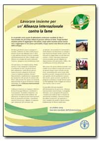 Lavorare Insieme Per Un'Alleanza Interna... by Food and Agriculture Organization of the United Na...