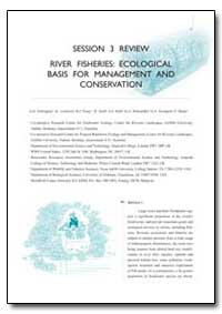Session 3 Review River Fisheries: Ecolog... by Arthington, A. H.