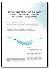 The Present Status of the River Rhine wi... by Brenner, T.