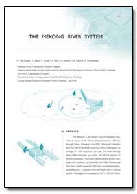 The Mekong River System by Zalinge, N. Van