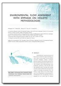 Environmental Flow Assessment with Empha... by Arthington, A. H.