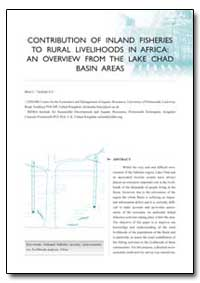 Contribution of Inland Fisheries to Rura... by Neiland, A. E.