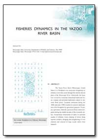 Fisheries Dynamics in the Yazoo River Ba... by Jackson, D. C.