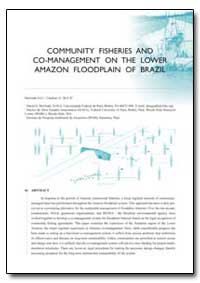Community Fisheries and Co-Management on... by Mcgrath, D. G.