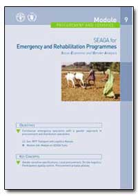 Emergency and Rehabilitation Programmes ... by Food and Agriculture Organization of the United Na...