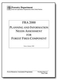 Planning and Information Needs Assessmen... by Food and Agriculture Organization of the United Na...