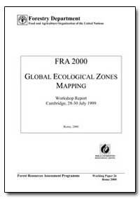 Global Ecological Zones Mapping by Food and Agriculture Organization of the United Na...