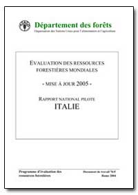 Evaluation des Ressources Forestieres Mo... by Food and Agriculture Organization of the United Na...