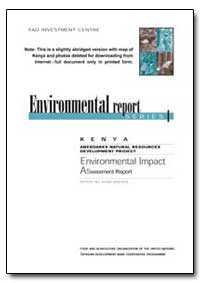Environmental Report by Food and Agriculture Organization of the United Na...
