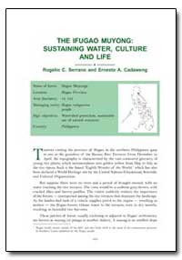 The Ifugao Muyong: Sustaining Water, Cul... by Serrano, Rogelio C.