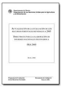 Actualizacion de la Evaluacion de Los Re... by Food and Agriculture Organization of the United Na...