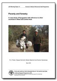 Poverty and Forestry a Case Study of Kyr... by Fisher, R. J.