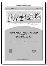 Informacion Sobre la Madera para Energia... by Food and Agriculture Organization of the United Na...
