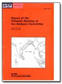 Report of the Fifteenth Meeting of the A... by Food and Agriculture Organization of the United Na...