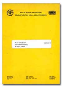 Pilot Survey of Driftnet Fisheries in Ba... by Bergstrom, M.