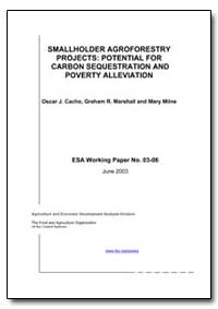 Smallholder Agroforestry Projects: Poten... by Milne, Mary