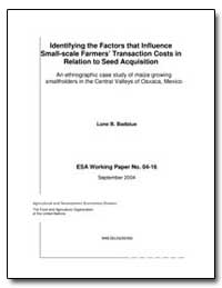 Identifying the Factors That Influence S... by Badstue, Lone B.
