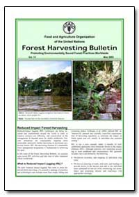 Forest Harvesting Bulletin Promoting Env... by Food and Agriculture Organization of the United Na...