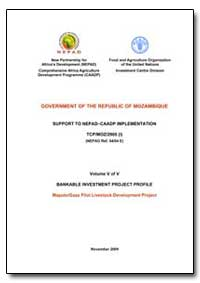 Mozambique: Nepadcaadp Bankable Investme... by Food and Agriculture Organization of the United Na...