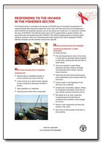 Responding to the Hiv/Aids in the Fisher... by Food and Agriculture Organization of the United Na...
