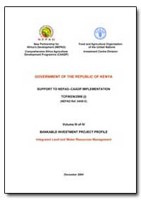 Kenya : NEPAD-CAADP Bankable Investment ... by Food and Agriculture Organization of the United Na...