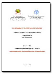 Uganda: Nepadcaadp Bankable Investment P... by Food and Agriculture Organization of the United Na...