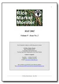 Rice Market Monitor May 2002 by Food and Agriculture Organization of the United Na...