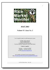 Rice Market Monitor May 2003 by Food and Agriculture Organization of the United Na...