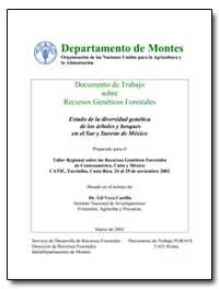 Estado de la Diversidad Genetica de Los ... by Castillo, Gil Vera, Dr.