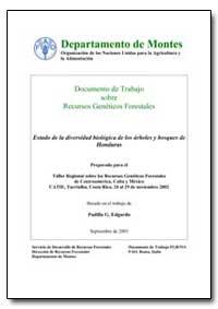 Estado de la Diversidad Biologica de Los... by Edgardo, Padilla G.