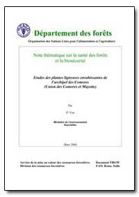 Études des Plantes Ligneuses Envahissant... by Vos, P.