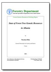 State of Forest Tree Genetic Resources i... by Dida, Maxhun