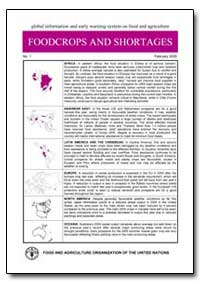 Foodcrops and Shortages by Food and Agriculture Organization of the United Na...