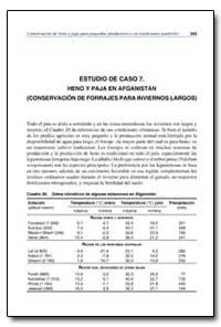 Estudio de Caso 7. Heno Y Paja en Afgani... by Food and Agriculture Organization of the United Na...