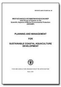 Planning and Management for Sustainable ... by Food and Agriculture Organization of the United Na...