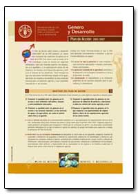 Plan de Accion 2002 - 2007 by Food and Agriculture Organization of the United Na...