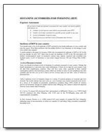 Histamine (Scombroid) Fish Poisoning (Hf... by Food and Agriculture Organization of the United Na...