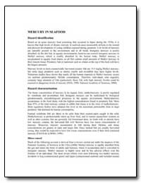 Mercury in Seafood by Food and Agriculture Organization of the United Na...