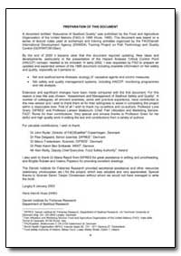 Preparation of This Document by Food and Agriculture Organization of the United Na...