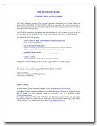 The Resources Bank Introduction to the C... by Food and Agriculture Organization of the United Na...