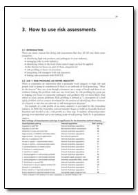 How to Use Risk Assessments by Food and Agriculture Organization of the United Na...