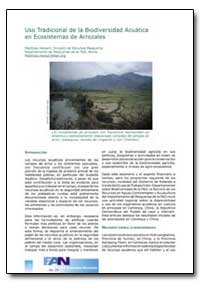Uso Tradicional de la Biodiversidad Acua... by Food and Agriculture Organization of the United Na...